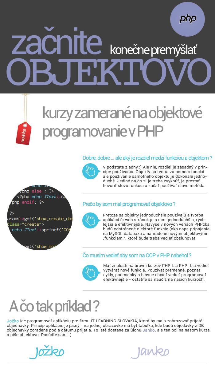 PHP objektové programovanie