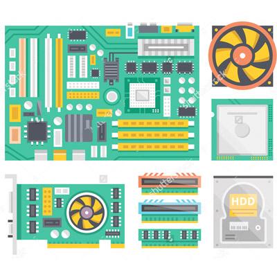 Kurz správca počítača I. – Počítačový hardvér, skladanie a oprava počítača