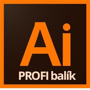 Balík Adobe Illustrator profesionál - Illustrator I., II., III. - základy, tvorba, kreatíva a 3D