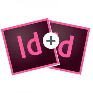 Balík Adobe InDesign profesionál - časopis, noviny, brožúry a prospekty od základov až po pokročilé možnosti