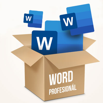 Balík Microsoft Word Profesionál - komplexný balík kurzov