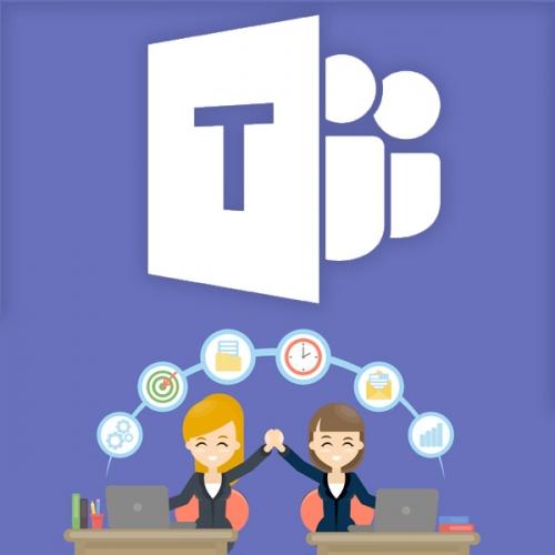 Kurz Microsoft Teams I. - efektívna práca s programom a online komunikácia v tíme pre používateľov