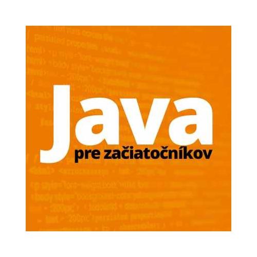 Počítačový kurz Java I. - pre začiatočníkov