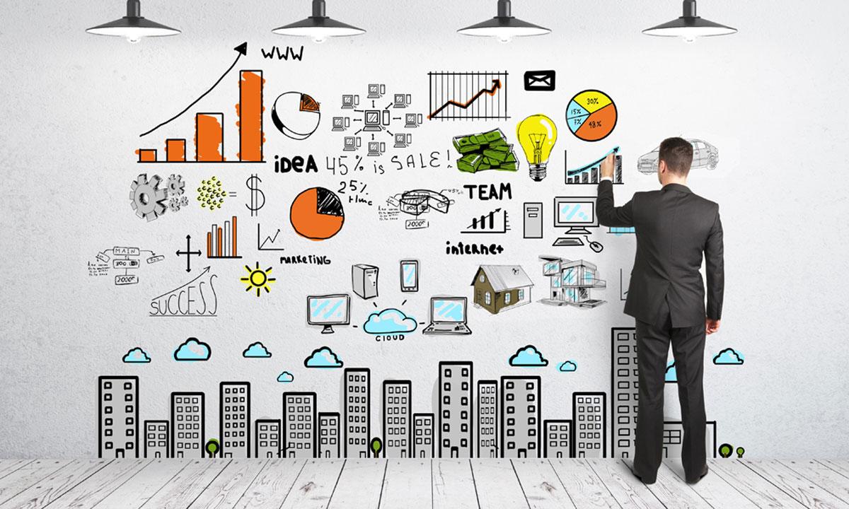 pri plánovaní podniku si spravte strategický plán, pomôžu aj grafy