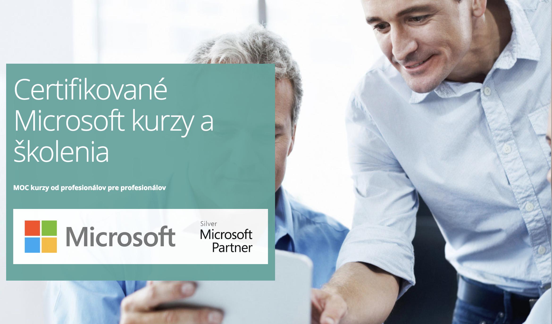 Certifikované Microsoft kurzy a školenia