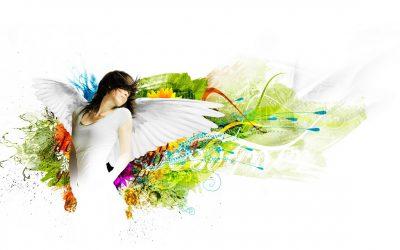 obrázok na pracovnej ploche - anjel v umení