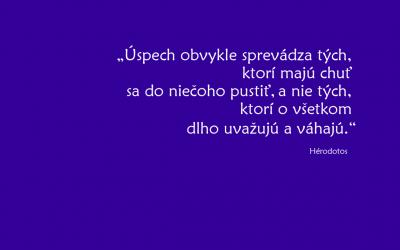 na pracovnej ploche - citát Hérodotosa