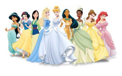 obrázok na pracovnej ploche - princezné od Disneyho