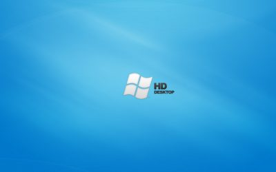 obrázok plochy pre win 7 - HD modrá