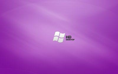 obrázok plochy pre win 7 - HD fialová