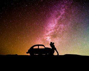 obrázok na pracovnej ploche - romantika v noci