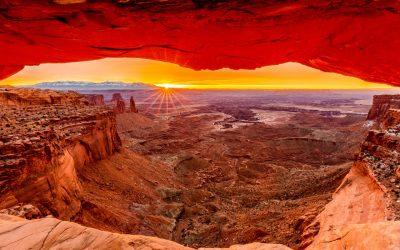 obrázok na pracovnej ploche - skalistá príroda vo veľkom kaňone
