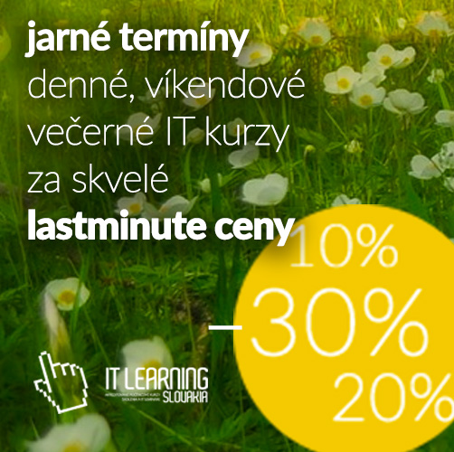 3f901118e Skvelá JARNÁ ponuka – posledné voľné miesta až s 30% zľavami