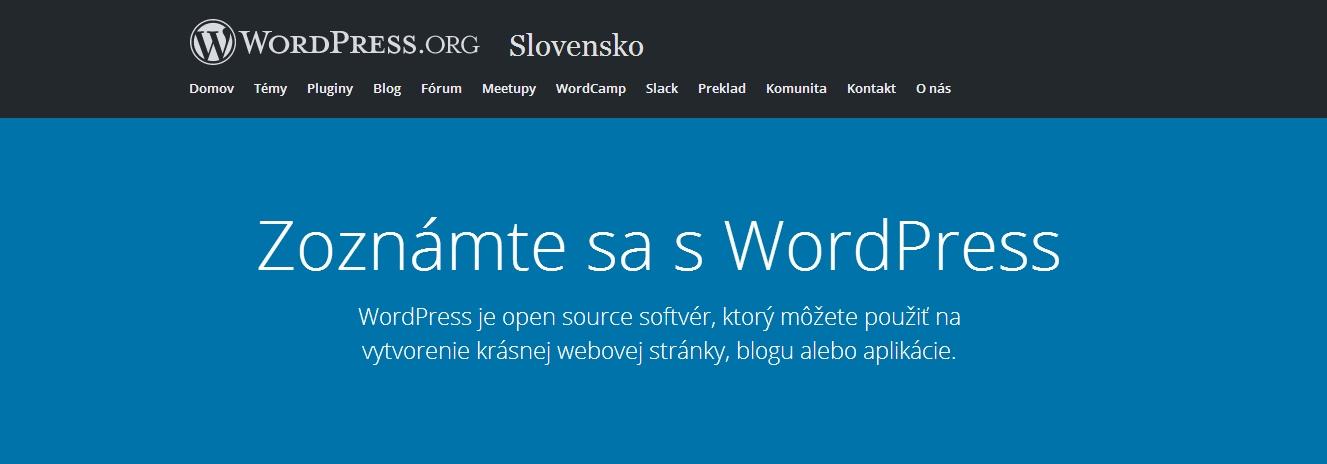 wordpress-slovensko