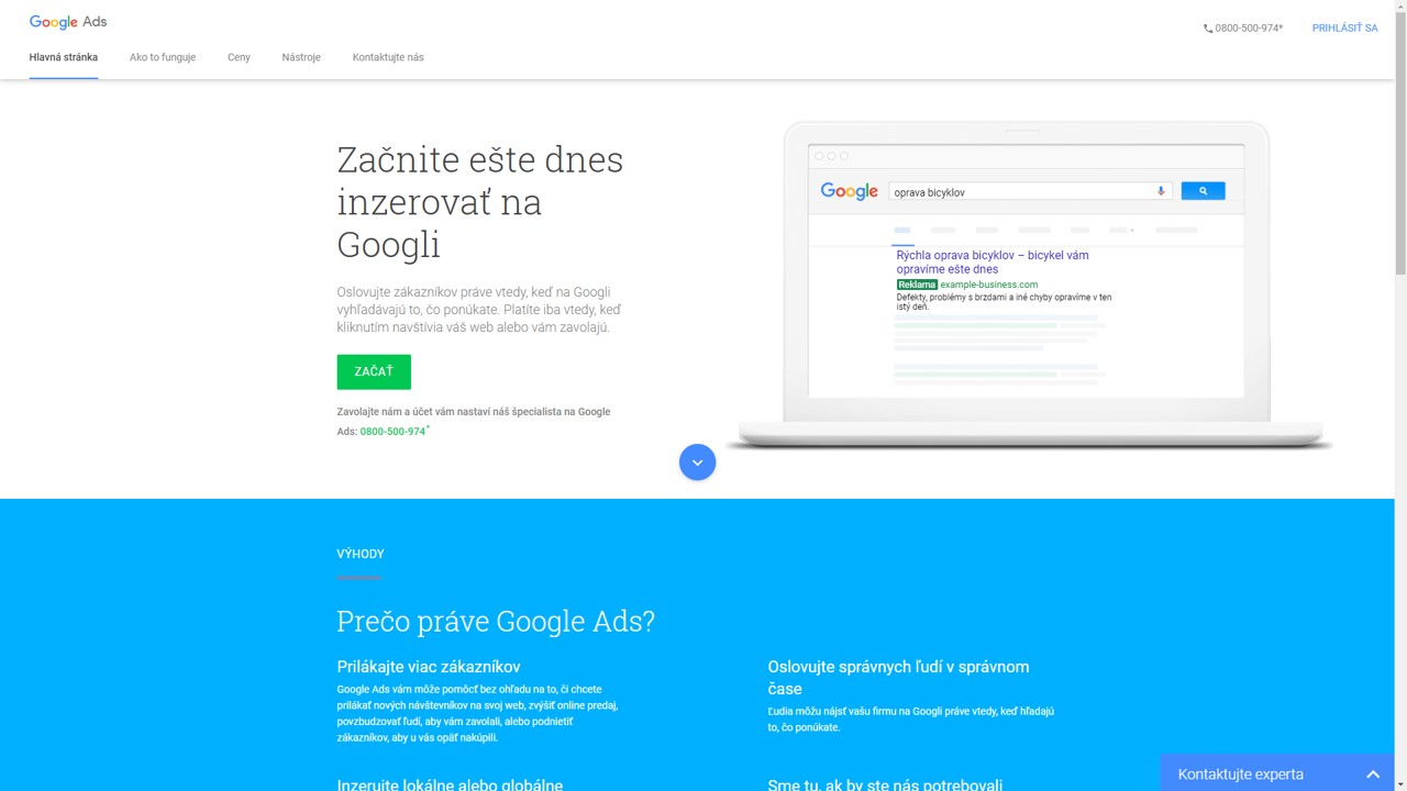 uvodna-obrazovka-google-ads