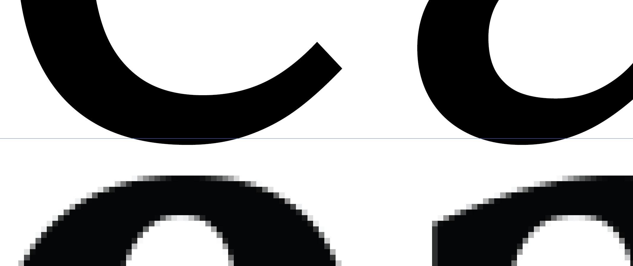droga menom illustrator - krivky vs raster na príklade