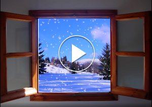 ako vytvorit snezenie v okne v Adobe Premiere