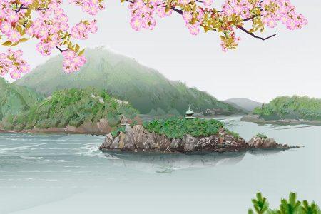 Sen Tomonoura - Tacuo Horiuči (obraz)