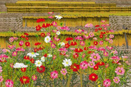 Obraz s kvetmi - Tacuo Horiuči (obraz)