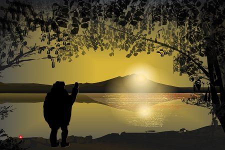 Pozdrav vychádzajúcemu slnku - Tacuo Horiuči (obraz)