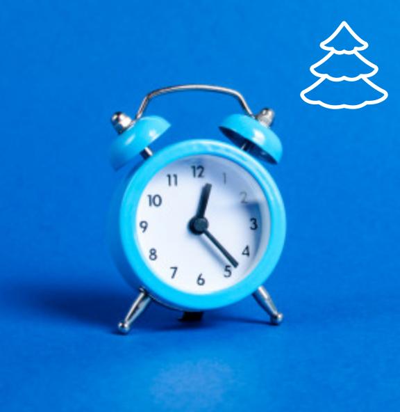 Otváracie hodiny počas sviatkov 2019-2020