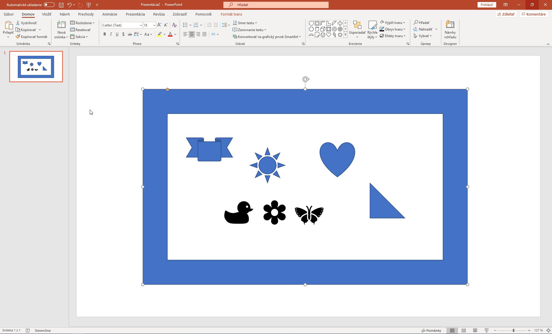 Self-made Valentínka - vytvárame v PowerPointe