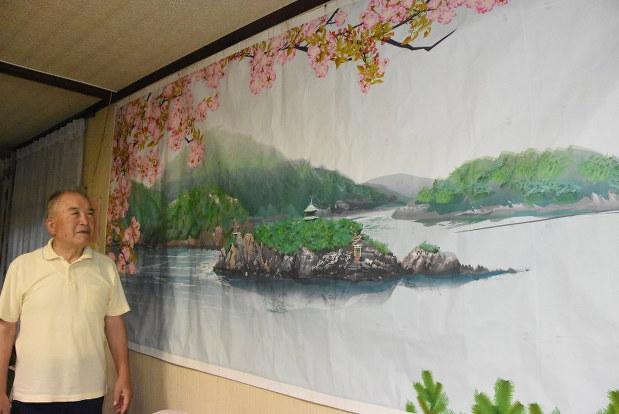 obraz zálivu na stene Tacuo H.