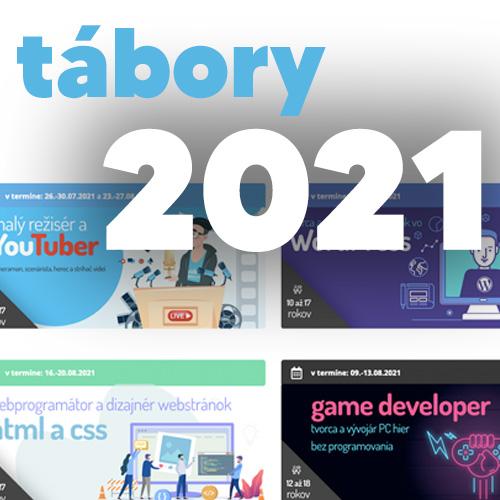 Denné letné počítačové tábory pre deti 2021 budú! 👫