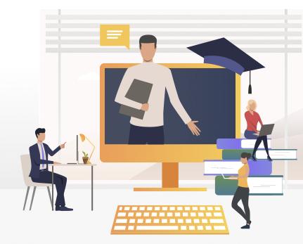 Online výuka a živé online kurzy sú spustené