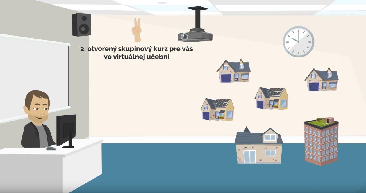 Virtuálna učebňa - skupinové živé online kurzy