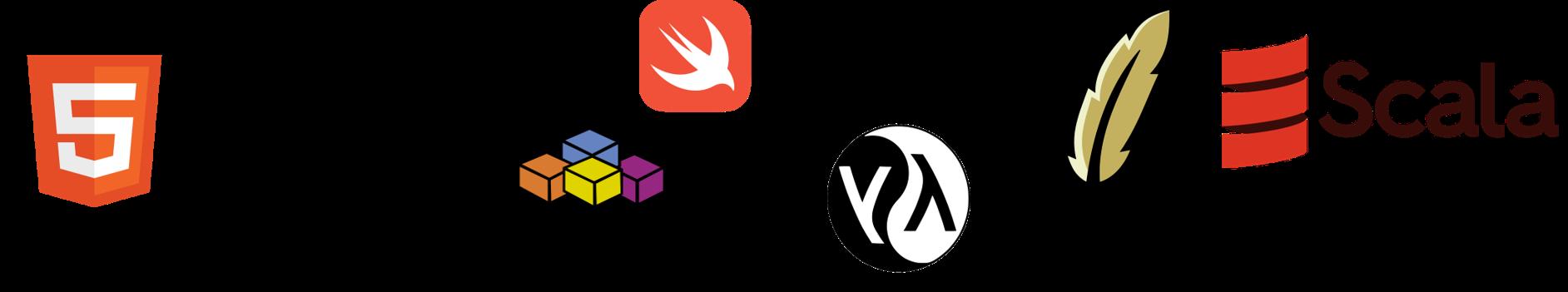 Top 5 programovacie jazyky 2020 - logá jazykov 1