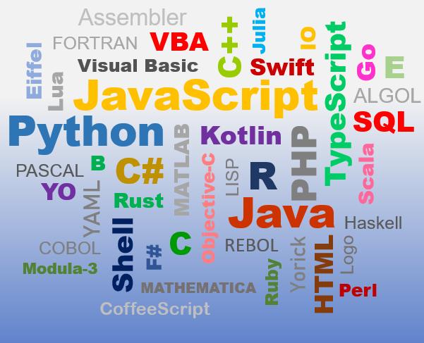 TOP 5 programovacích jazykov 2020