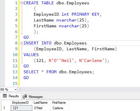 Ako sa stať analytikom - databázy - SQL script - ukážka