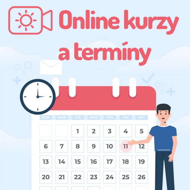 Množstvo nových termínov pre živé online kurzy