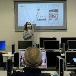 Lektorka kurzu Instagram marketing počas kurzu