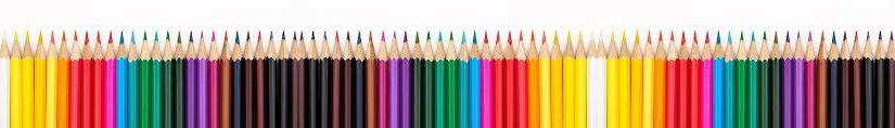 ilustračný obrázok - rad farbičiek