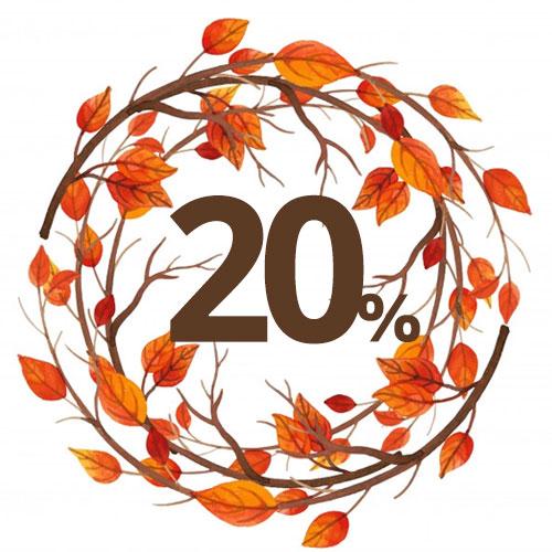 Jesenné zľavy 2021